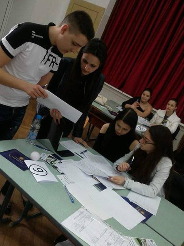 Национално ученическо състезание - Митнически и данъчен контрол