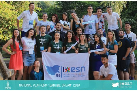 Danube dream National platform of Erasmus Student Network Bulgaria at the D. A. Tsenov Academy of Economics