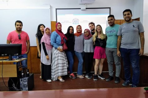 Summer School with students from Egypt took place at the D. A. Tsenov Academy of Economics