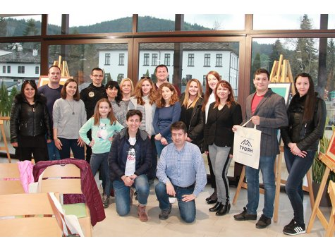 Practical trainings in Troyan with graduates in International Economic Relations