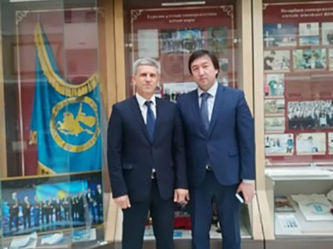 A delegation from the D. A Tsenov Academy of Economics has visited the L.N. Gumilyov Eurasian National University in Kazakhstan