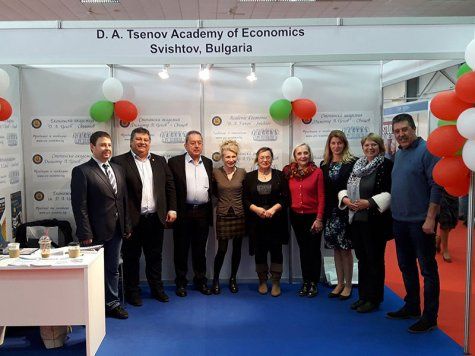 "D. A. Tsenov Academy of Economics participated in the international exhibition ""Education and career"" in Cyprus"