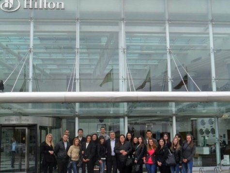 "Participation in the forum, ""Careers at the Hilton, 2015"""