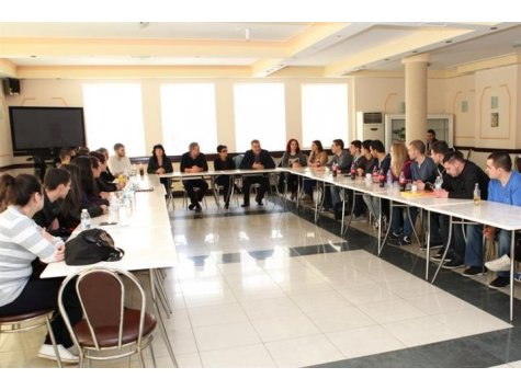 Students from the D. A. Tsenov Academy of Economics received training from representatives from the Chamber of Independent Appraisers in Bulgaria